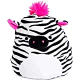 Squishmallow Kellytoy 8' Tracey The Zebra New Assortment 3- Super Soft Plush Toy Animal Pillow Pal Pillow Buddy Stuffed Animal Birthday Gift Holiday