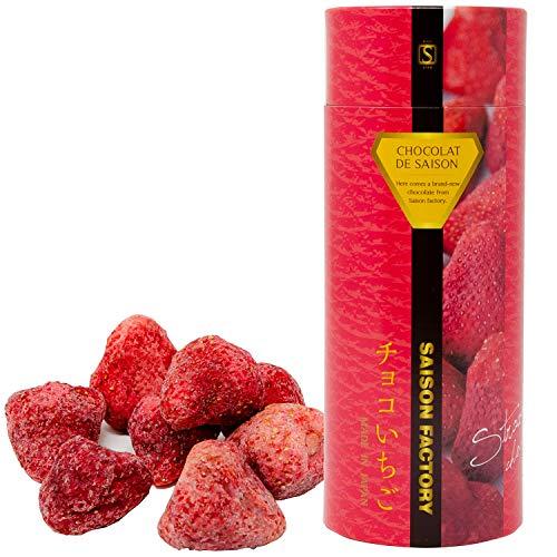 SAISON FACTORY フリーズドライチョコ (いちご・ばなな)プレゼント・ギフト・チョコレート・いちご・贈り物・スイーツ・プチギフト (チョコいちご)