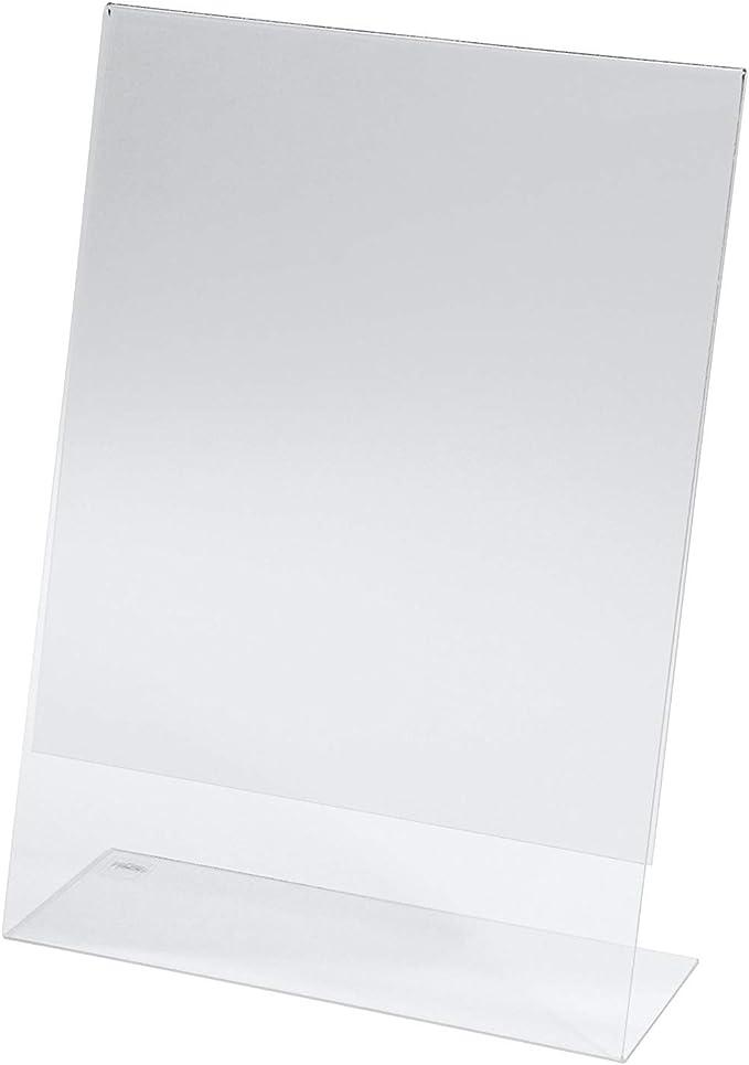 952 opinioni per SIGEL TA210 Porta-avvisi da tavolo / Porta-brochure da banco, con base a L,