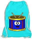 Hariz - Bolsa de deporte para niños, con tarjetas de regalo, color azul azur, tamaño talla única