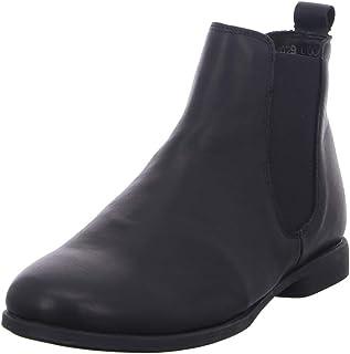 THINK! Agrat_3-000029 Leder Gefütterter, Nachhaltiger, Chelsea-Boots Femme