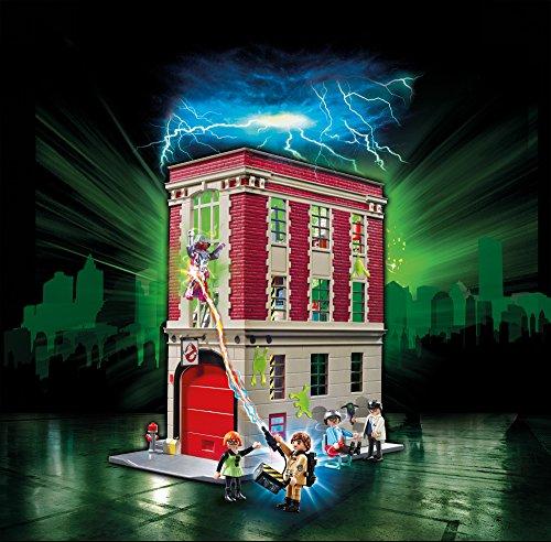 Quartier Général Ghostbusters Caserne de Pompier Playmobil - 9219 - 1