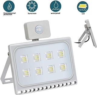 50W Foco Exterior LED con Sensor de Movimiento Floodlight