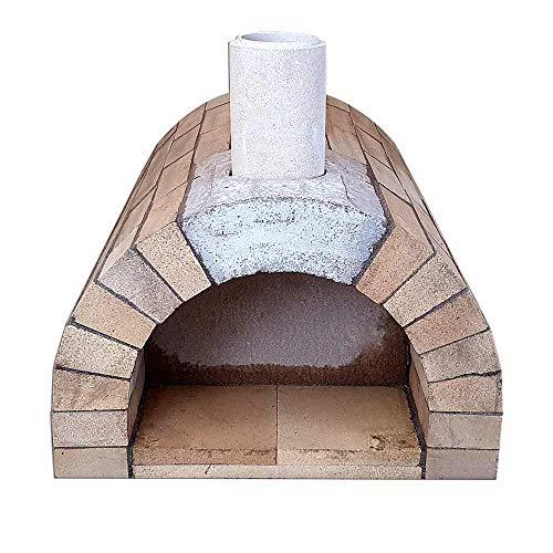PUR Schamotte Toskana XXL Pizzaofen Bausatz + Anleitung, Holzbackofen/Steinofen...