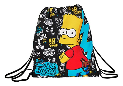 safta Los Simpsons 2018 Rucksack, 40 cm, 5 liters, Mehrfarbig (Multicolor)