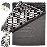 """Best Cat Litter Mats - Waretary Cat Litter Mat, 36""""x 30"""" Extra Large Review"""
