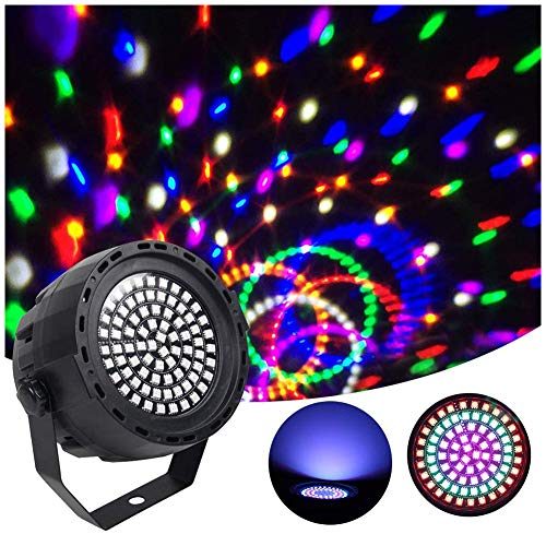 upstartech LED Par Licht,LED Par Scheinwerfer LED Bühnenlicht,Disco Licht,für Stage Lights 78 LED-Beleuchtung IR-Fernbedienung DMX und Party Strahler für Club Party Karneval KTV Di