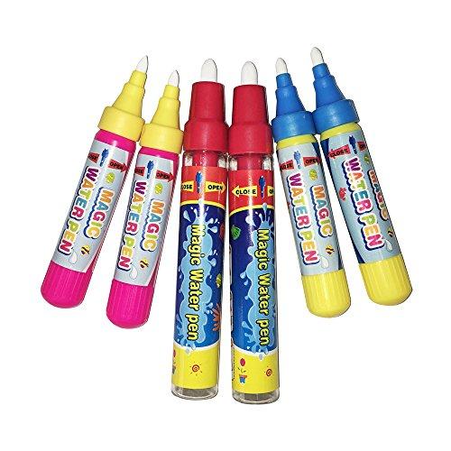 Jun-see magische ersatz Wasser Pen,auch Wasser Pen (6pcs)für die Magic Doodle - Matte