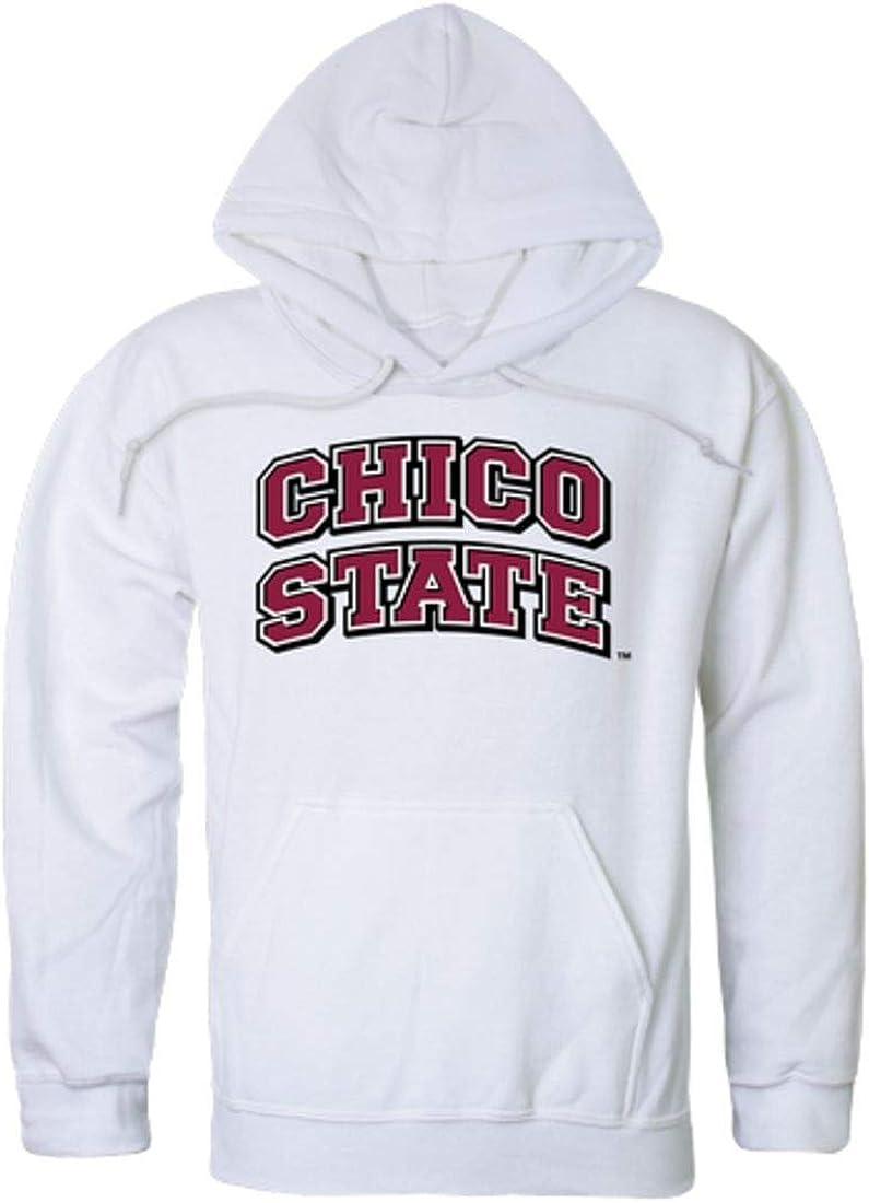 W Republic CSU California State University Chico Wildcats College Hoodie Sweatshirt White