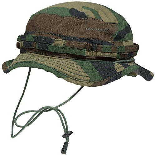 Pentagon, cappello con cordino Multicolore woodland