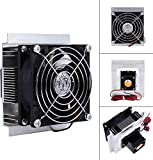 Yosoo DIY Computer CPU Cooling Fans Thermoelectric Peltier Refrigeration Semiconductor Cooling System Cooler Fan Kit