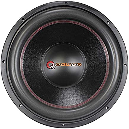 Q Power 15 Inch 4000 Watt Super Deluxe Subwoofer DVC Car Audio Sub | QP15-