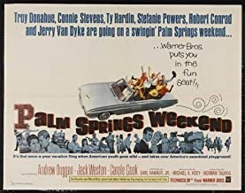 Palm Springs Weekend POSTER Movie (30 x 40 Inches - 77cm x 102cm) (1963)
