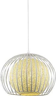 28cm Ceiling Chandelier, Single-head Adjustable Paint Wrought Iron Pendant Lamp, Bedroom Living Room Dining Room Creative Fixture Light