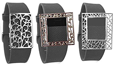 Fitness Band Bling Accessory for fitbit charge hr fitbit flex wristband (ONLY bling accessory, NO TRACKERS, no wristband)