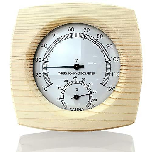 BAIYI Holz Sauna Thermometer Hygrometer Thermometer Hygrometer Feuchtemessung Für Die Sauna
