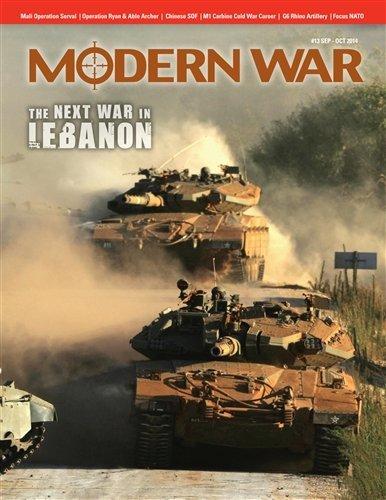 DG: Modern War Magazine #13, with the Next War in Lebanon Board Game