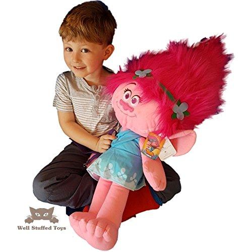 Trolls Plush Soft Toy 77cm XL - AMAPOLA - Extra grande