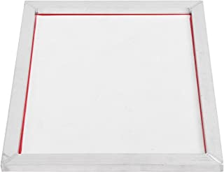 CROSYO Cadre en Aluminium d'impression à écran 5 pcs A5 étiré 32 * 22cm avec microester Polyester d'impression de Soie 32...