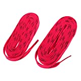 Baoblaze 2 Pedazos de Cordónes de Zapatos de Hockey de Nylón Multiusos para Deportista Multiusos Unisexo Botas - Rosa, 108 Pulgadas