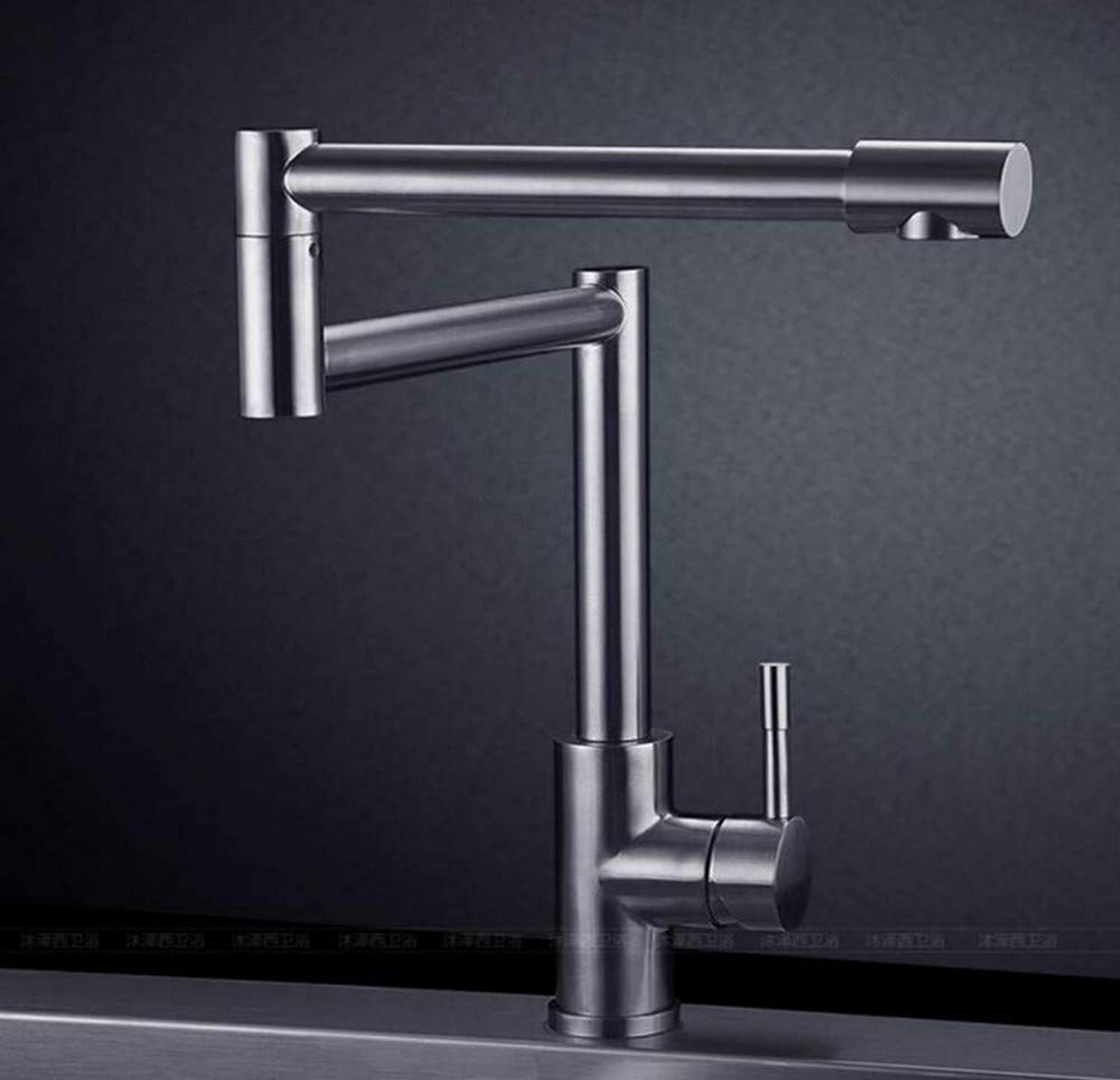 Copper Faucet Basin Faucet Hot and Cold Kitchen Sink Sink Sink Sink Collapsible Universal redary Faucet