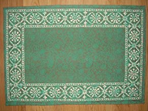 Homestead Floral Bouquet Filigree Print Placemat Table Linen