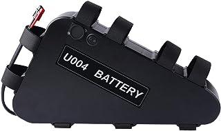Ebike Battery 36V 20AH Triangular Shape Battery Fit The Bike Frame Hard Case Velcro Straps Shockproof Solid Built Pack Hom...