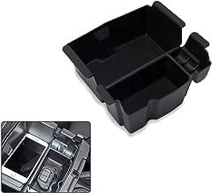 RANSOTO Center Console Organizer Tray for Jeep Wrangler JL JLU 2018-2019, Jeep Gladiator JT Truck (2020) Armrest Storage Glove Box - Jeep Rubicon Sport Sahara Moab Gladiator Accessories