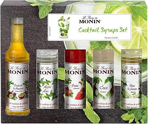 Le Sirop De Monin Cocktail Syrups Set