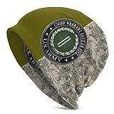ZhangLinFu Ufficiale Capo mandato dell'Esercito degli Stati Uniti a Cinque Gradi con Cappello a Cranio Verde Militare
