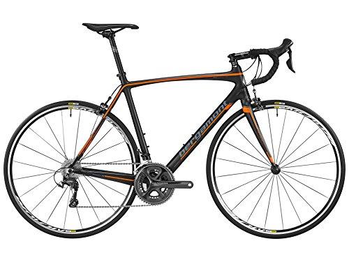 Bergamont Prime Race Carbon Rennrad schwarz/orange/grau 2016: Größe: 62cm (188-201cm)