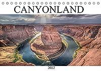 CANYONLAND, USA (Tischkalender 2022 DIN A5 quer): Schoene Naturlandschaften der National Parks im Suedwesten der USA. (Monatskalender, 14 Seiten )