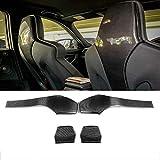TGFOF Cubierta Interior de Fibra de Carbono para Asiento Trasero de BMW F80 M3 Sedan F82 M4 Coupe F83 M4 Convertible 2014-2019