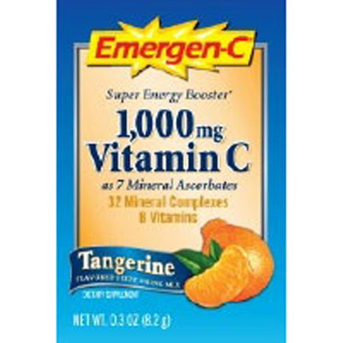 第二に怒って品海外直送品 Emergen-C タンジェリン 30 pckts 2パック