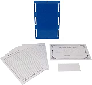 Class A Products Teacher's Hall Pass Kit with Antimicrobial GermBlox & Customizable Labels (Blue)