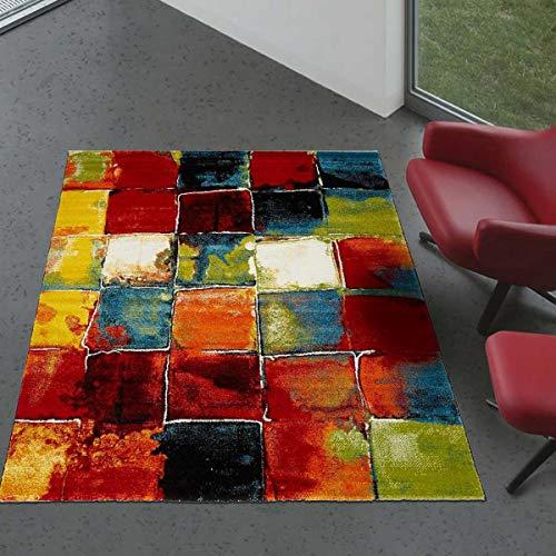 UN AMOUR DE TAPIS 140x200 Belo 2 - Tapis Moderne Design - Tapis Multicolor - Plusieur Dimensions Disponibles
