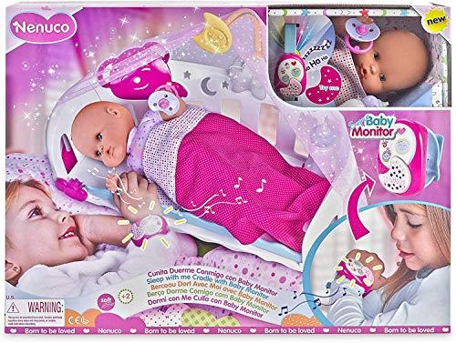 Muñeca Nenuco Duerme con Me interactiva juguete educativo 2+
