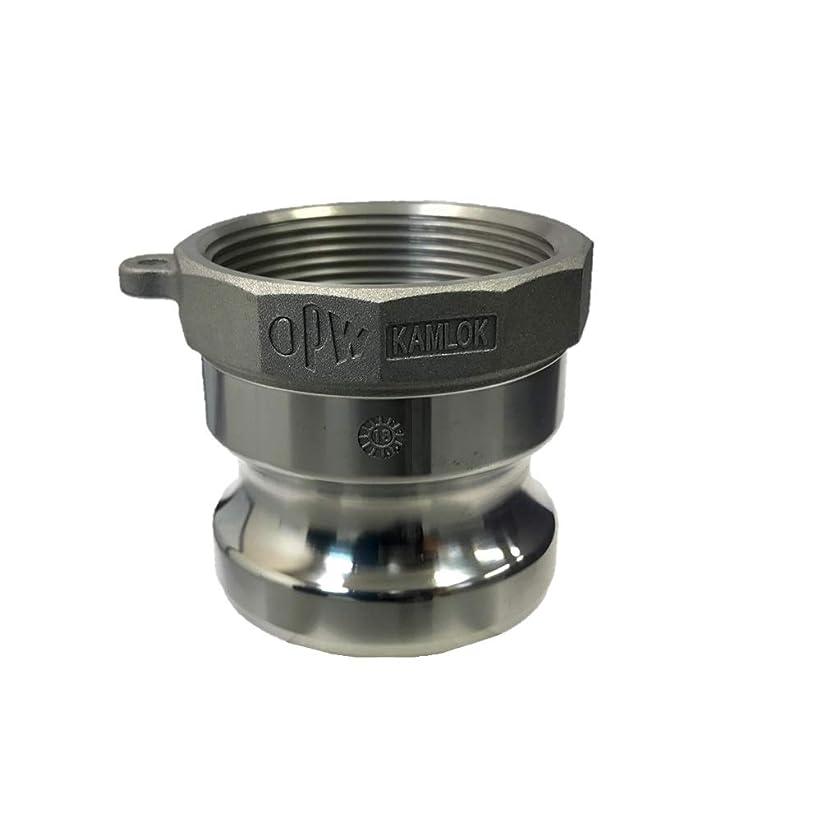 予言するぴったりくすぐったいTOYOX カムロック 633-AB2AL (2インチ アルミ合金) アダプター メネジ 規格