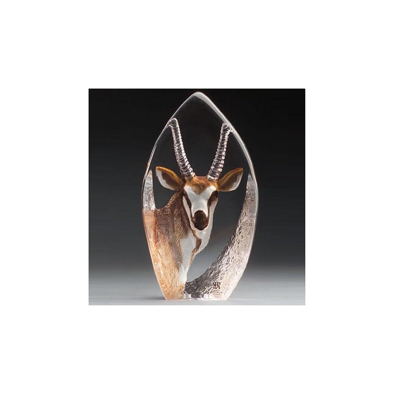 Mats Jonasson Antelope Crystal Sculpture MAT33864