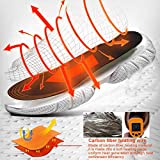 PINPOXE Fußwärmer, Sohlenwärmer, Wärmesohle,Schuhheizung, Beheizbare Thermosohle, Beheizbare Einlegesohlen Thermosohlen, 3 Warmstufen, Größe: 40-44 zuschneidbar, waschbar - 5