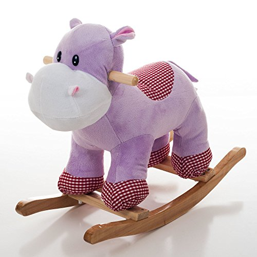Learn More About Happy Trails Henrietta The Rocking Hippo, Kids Rocker