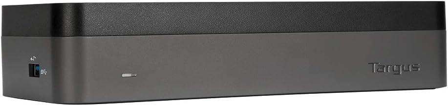 Targus USB-C Hub for Laptop Docking Station, Universal Quad HD Docking Station (DOCK520USZ)