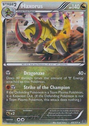 Pokemon - Haxorus (69) - Plasma Blast - Holo
