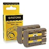 2x Batería BP-511 para Canon PowerShot G1 | G2 | G3 | G5 | G6 | Pro1 | Pro 90 IS | EOS 5D | 50D | 10D | 20D | 20Da | 30D | 40D | 300D | D10 | D30 | D60| Camcorder MV30 | MV30i | MV300 | MV300i | MV400 | MV430i | MV450 | MV450i | MV500 | MV500i | MV530i | MV550i | Optura 10 | 100MC | 20 | 200MC | Pi y mucho más…