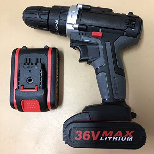 La mano de la pistola de impacto taladro perfora destornillador eléctrico Taladro...