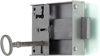 Antikas - cerradura de 87 x 63 con llave en estilo antiguo ...