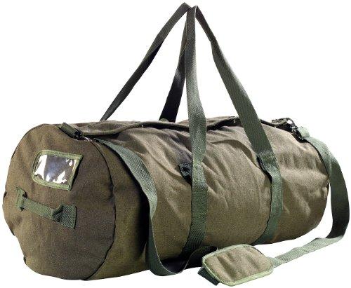 Xcase Seesack XXL: XXL-Canvas-Reisetasche mit gepolstertem Schultergurt, 100 Liter (Seesack Reisetasche)