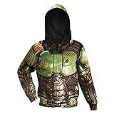 Doom Slayer Pullover Hoodie Costume for Men M