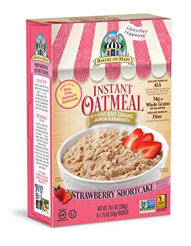 Bakery on Main Oatmeal Strawberry Shortcake - 6-1.75 Ounce Packets