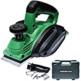 Metabo HPT Handheld Planer, 3-1/4', 5.5 Amp Motor, Re-sharpenable Blades, Built-in Kickstand, Case (P20STQS)